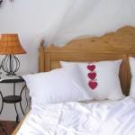 Schlafzimmer im Herzlhof Rupp