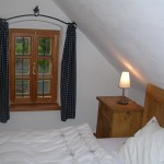 Das Schlafzimmer im Rosenhof Hofer
