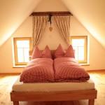 Das Schlafzimmer im Kellerstöckl Strempfl