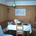 Der Essbereich im Schachnerhaus