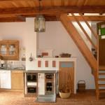 Küchenzeile im Ferienhaus Moarhofstöckl