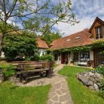 Am Innenhof am Alten Gehöft am Lormanberg in Kirchberg an der Raab