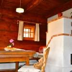 Kachelofen im Ferienhaus De Buigne