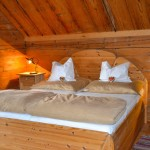 Schlafzimmer im Ferienhaus De Buigne
