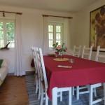 Esszimmer im Ferienhaus Baumgarten 1