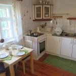 Küche im Ferienhaus Baumgarten 1