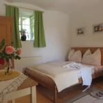 Schlafzimmer im Ferienhaus Baumgarten 1