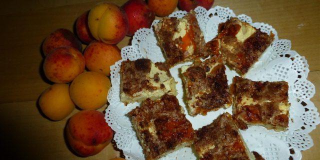 Steirischer Marillenkuchen